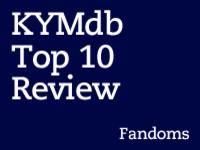Top Ten Fandoms of 2012