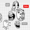 Visual Analysis: Dimensions of Rage