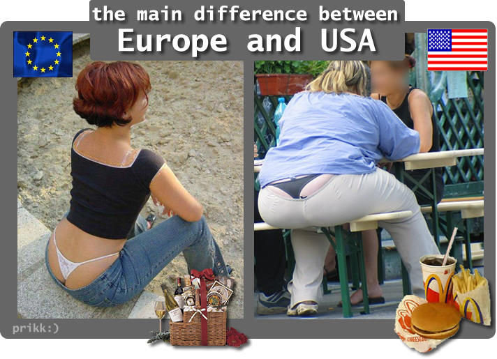 Sexual differences between germans and americans