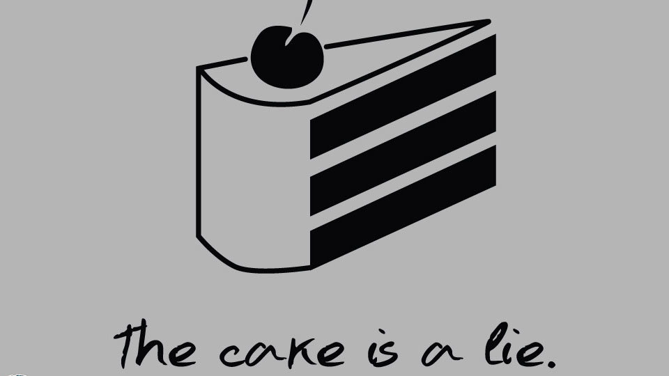 The Cake Is A Lie Knowyourmeme