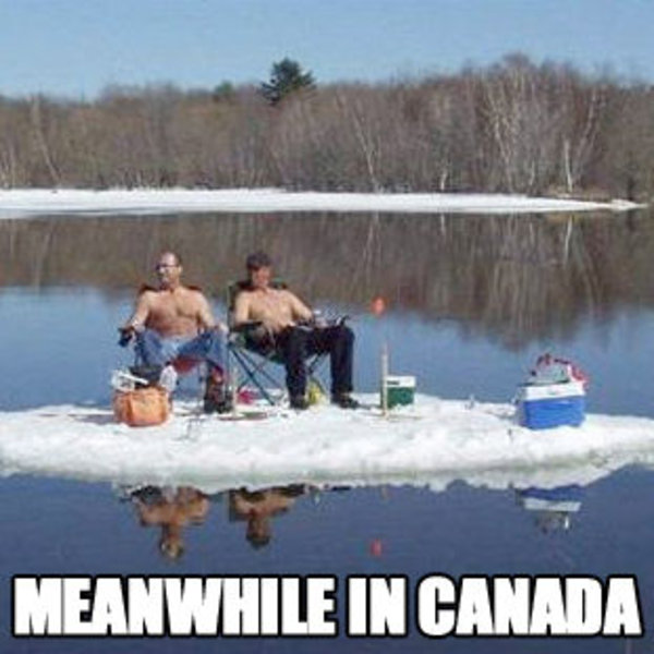CANADA meanwhile in know your meme