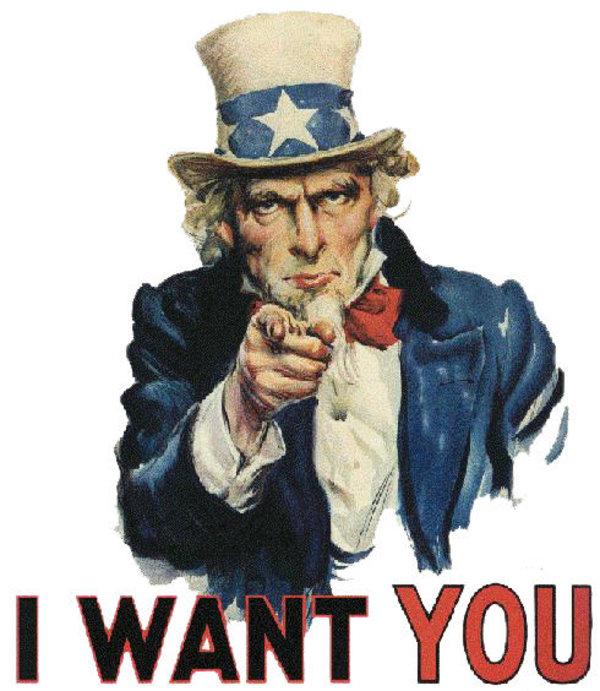 I Want You Uncle Sam Meme