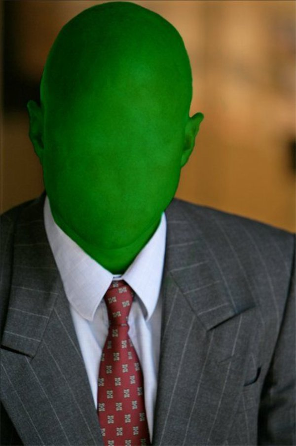 Green Anon Old Anonymous Know Your Meme