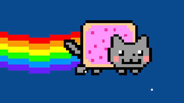 Moving Pictures Of Nyon Cat Powerpoint