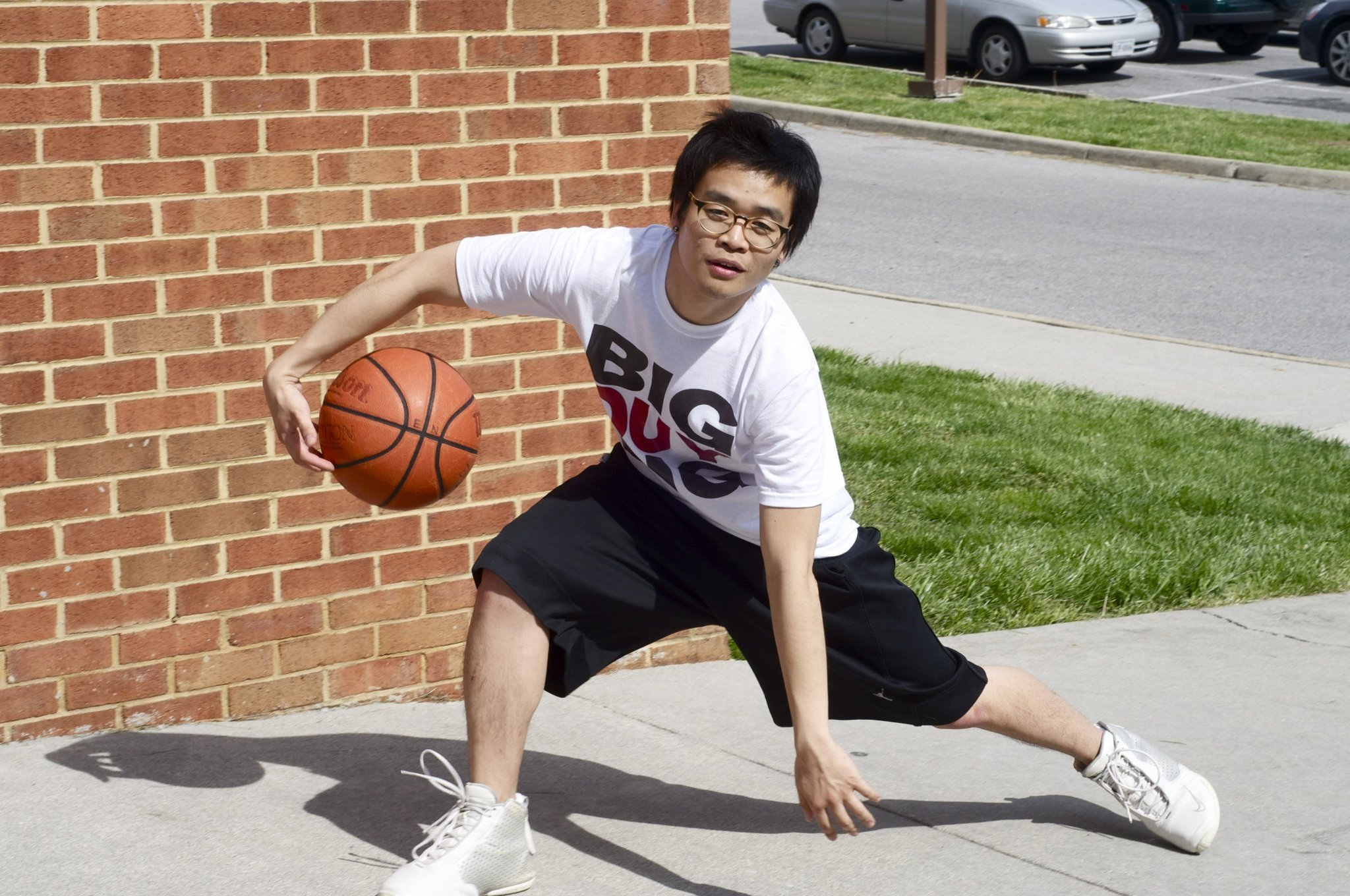 Asain Kid Playing Basketball Meme