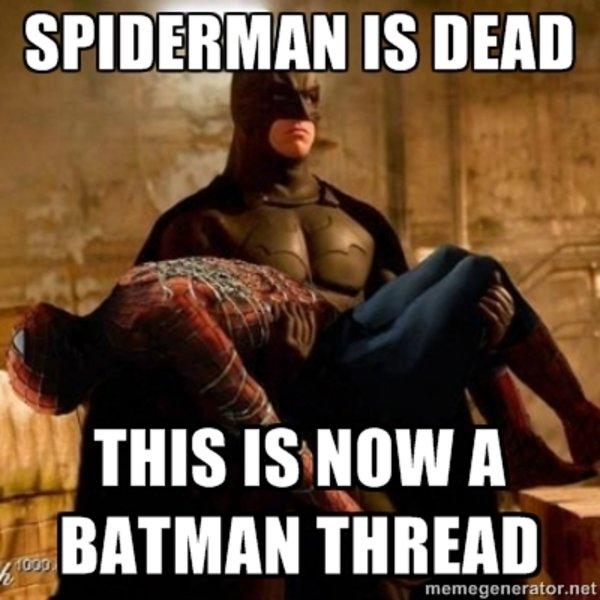 Spiderman Meme Funny Junk : Batman the spiderman killer know your meme