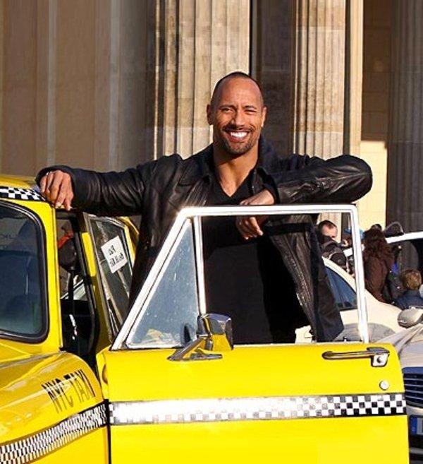 dwayne_johnson good guy taxi driver know your meme