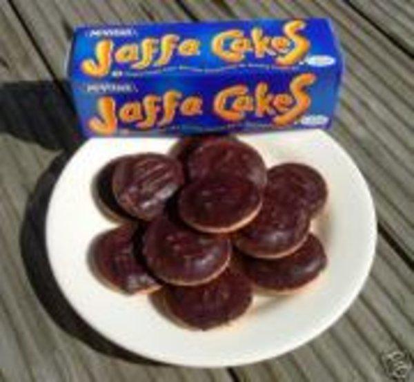 White Chocolate Jaffa Cakes