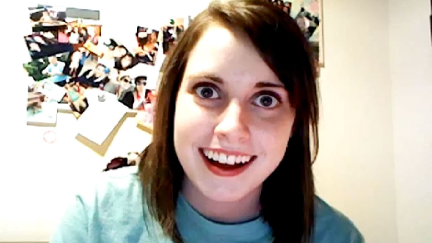 Overly_attached_GF overly attached girlfriend know your meme