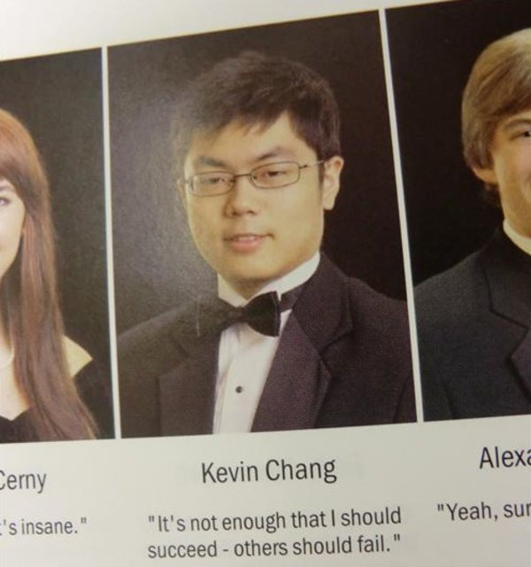 Kanye West Savage Quotes: High School Senior Yearbook Photos
