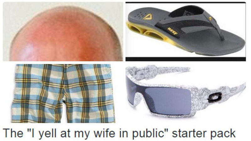 dating a black man starter pack