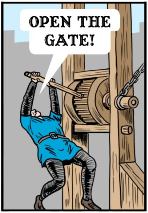 Open The Gate Know Your Meme