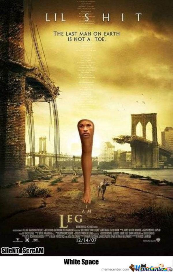 i am leg  Know Your Meme  I Am Legend Fb Cover