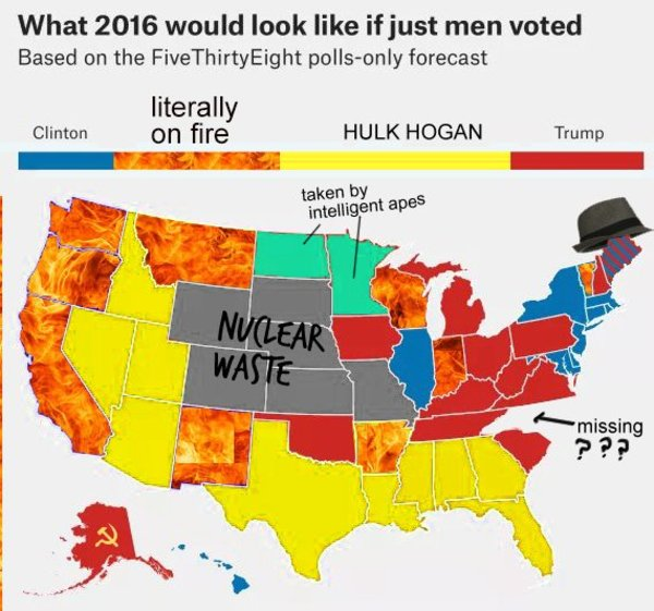 Electoral College Map Parodies Know Your Meme