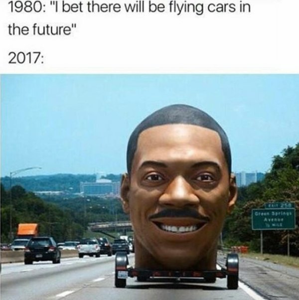 Were There Flying Cars In Back To The Future