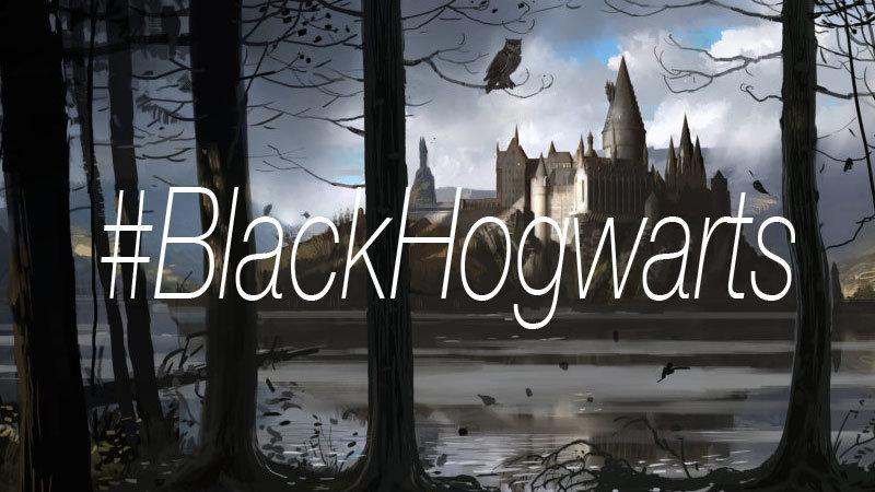 #BlackHogwarts