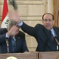 Iraqi Shoe Toss