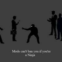 Mods can't Ban You if...