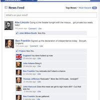 History Through Facebook
