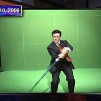 Stephen Colbert Lightsaber Green Screen Challenge