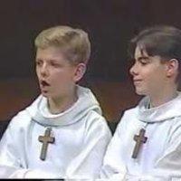 Italian Choir Boys sing Meow