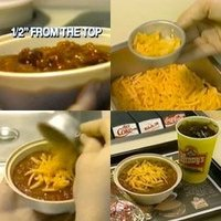 Chili can be served with Cheese