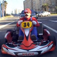 Real Life Mario Kart