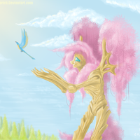 Fluttershy is a Tree