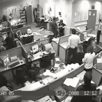 Russian Office Rampage