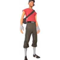 Civilian / Useless Scout - Team Fortress 2 Glitch