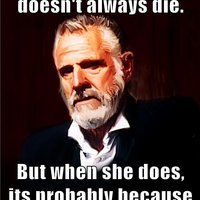 Most Interesting Man - Whitney Houston
