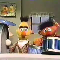 Ernie and Bert's Drum Play Parodies