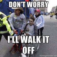 Boston Marathon Wheelchair Guy #2