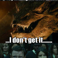 Smaug and the Statue