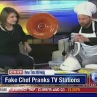 Fake Chef Pranks News Stations