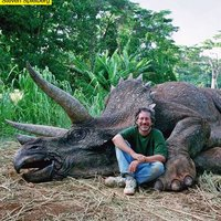 """Steven Spielberg """"killed"""" a triceratops"""