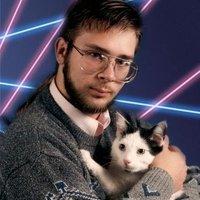 Laser Background Portraits