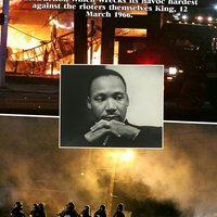 MLK Reacts to Riots