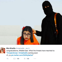 Mia Khalifa Death Threats