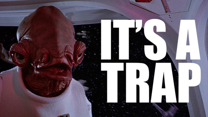It S A Trap Know Your Meme