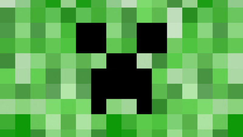 creepers in minecraft