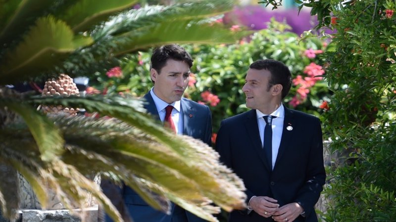 president frankrike macron