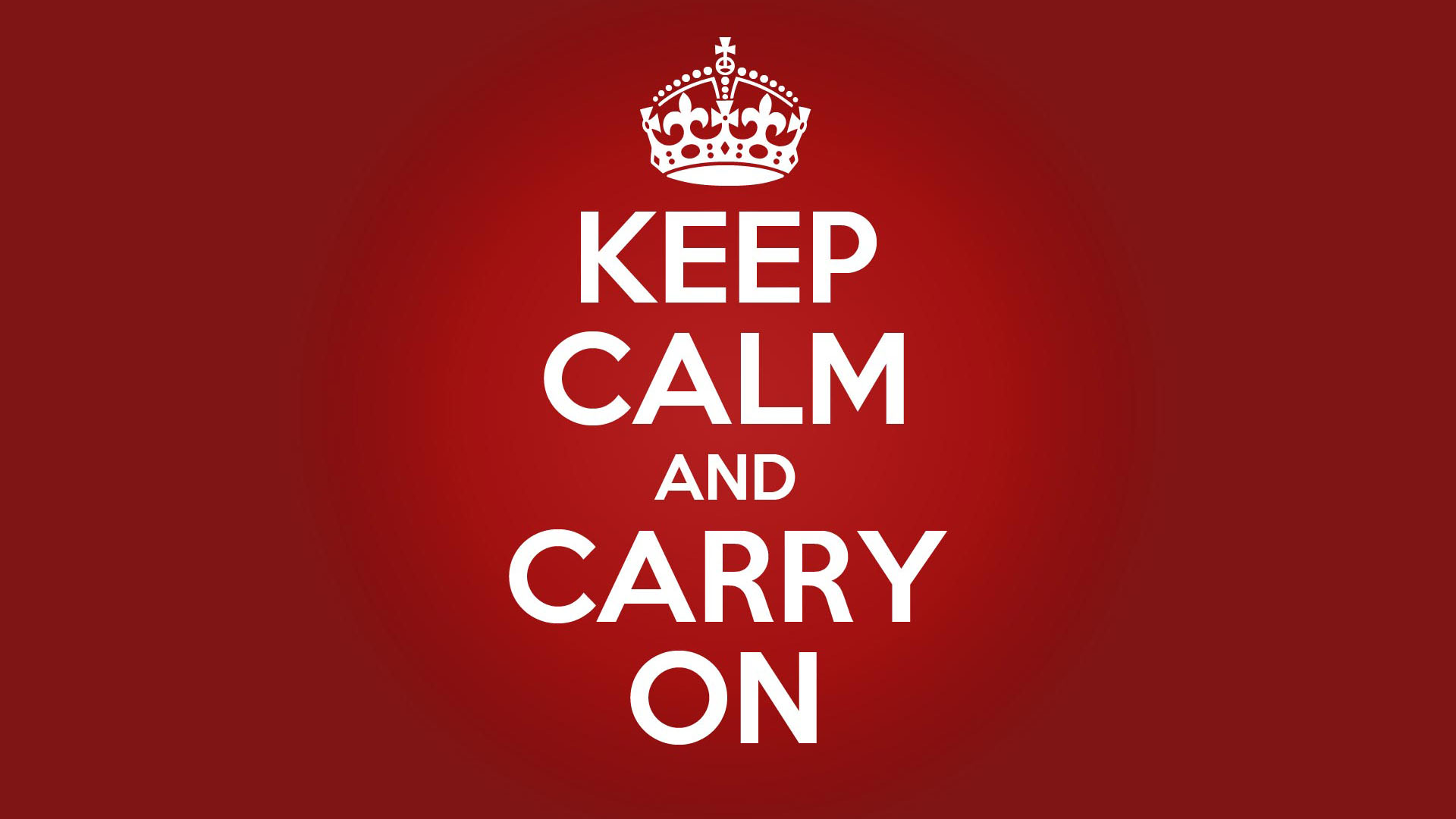 keepcalm keep calm and carry on know your meme