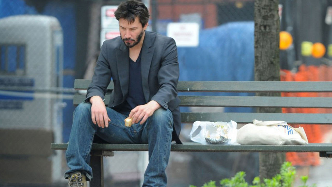 SadKeanu keanu is sad sad keanu know your meme