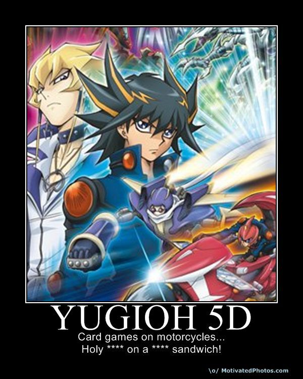 633988022695919095 YuGiOh5D card games on motorcycles! know your meme