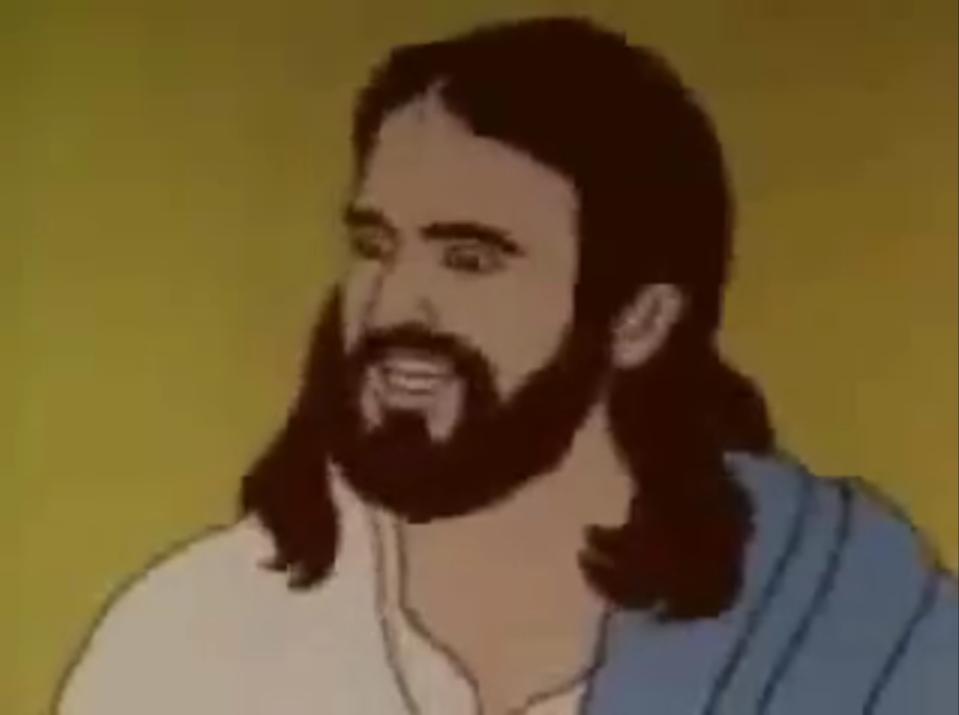 mormon_jesus you can't touch mormon jesus know your meme