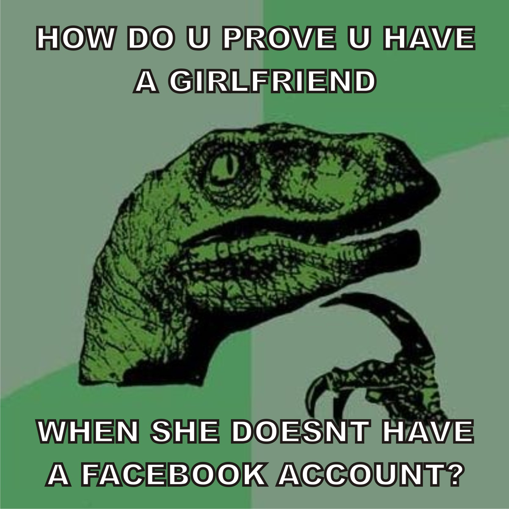 raptor1 the oldest history on the (face)book know your meme
