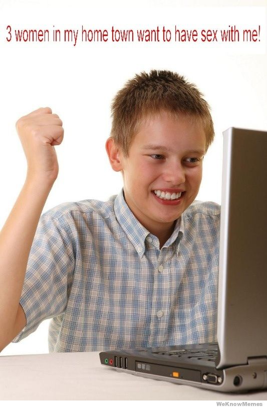 first day on the internet kid template