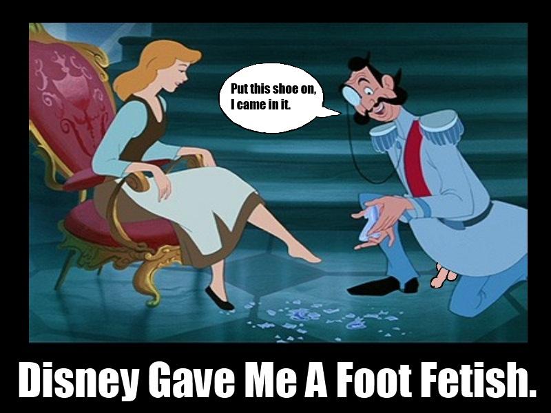 Foot fetish cartoons