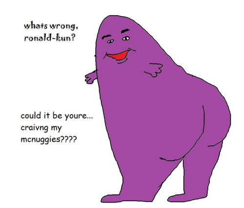 what the fuck is grimace